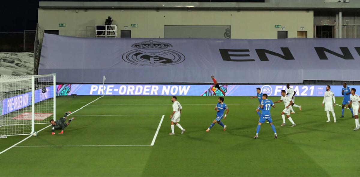 Getafe visitó al Real Madrid en el Di Stéfano
