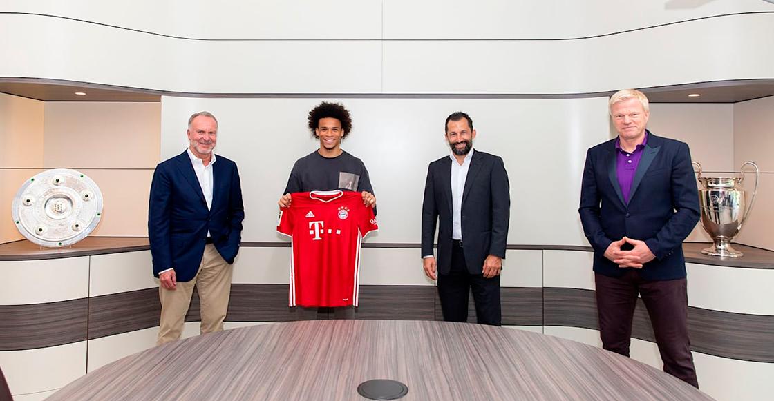 ¡Ya es oficial! Leroy Sané es nuevo jugador del Bayern Múnich