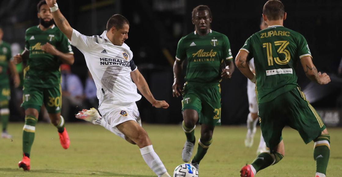 Is Back!! Revive el primer gol del 'Chicharito' Hernández en la MLS