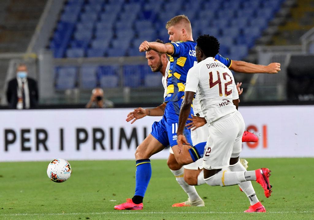 Roma derrota al Parma y le quita la marca al Napoli en la lucha por la Europa League
