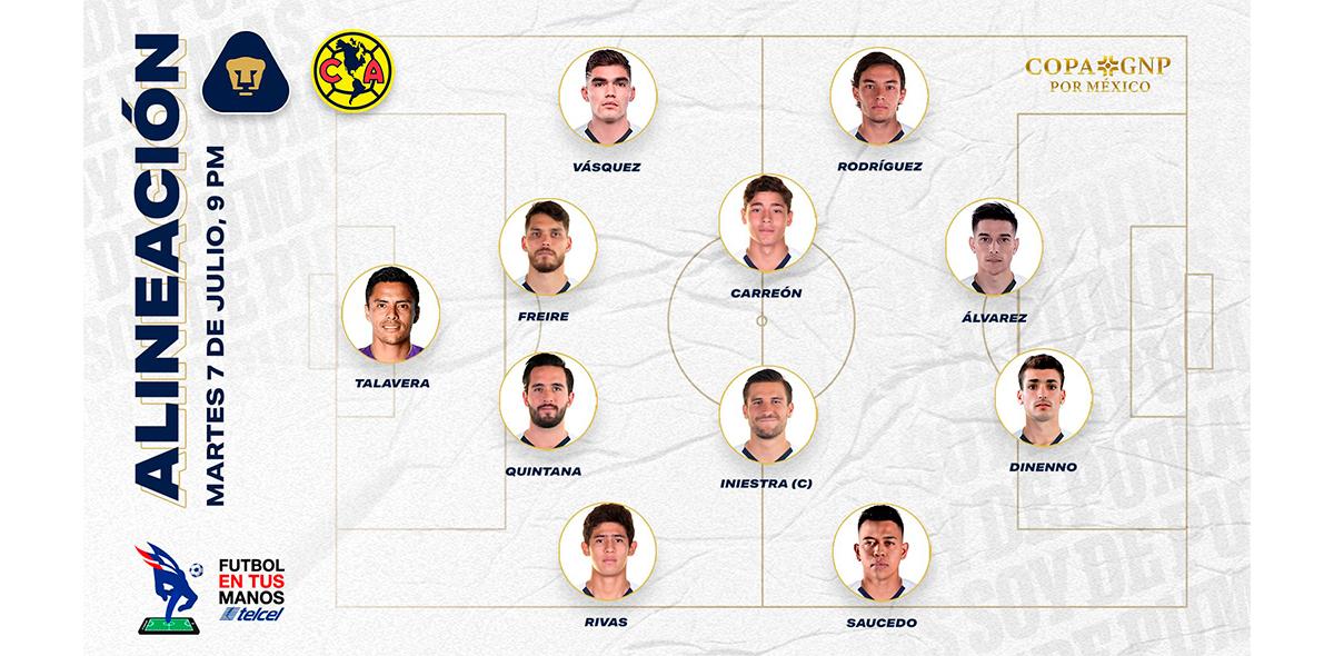 Ah no bueno: Talavera debutó con Pumas... ¡con sus primeros dos fails!