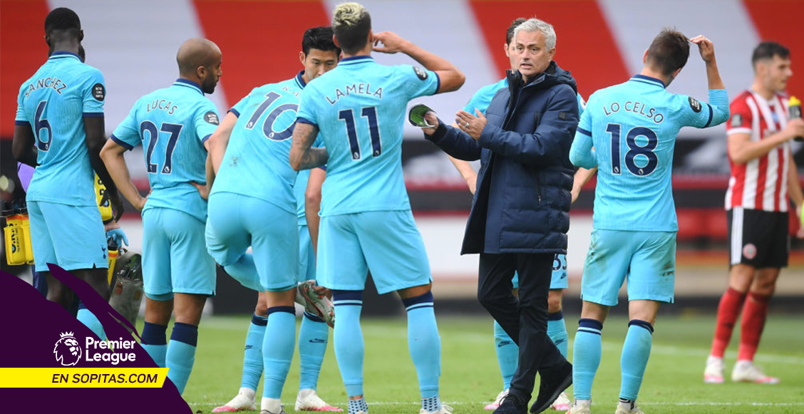 Tiembla 'Mou': Tottenham cayó goleado ante el Sheffield y necesita un milagro para entrar a Champions League