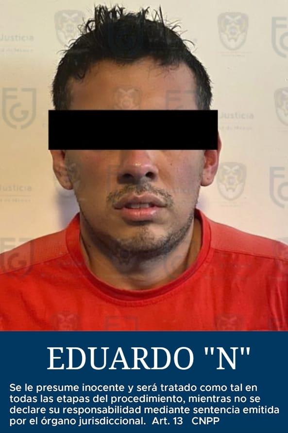 Detienen en la CDMX al hombre desnudo que acosaba a mujeres en Azcapotzalco