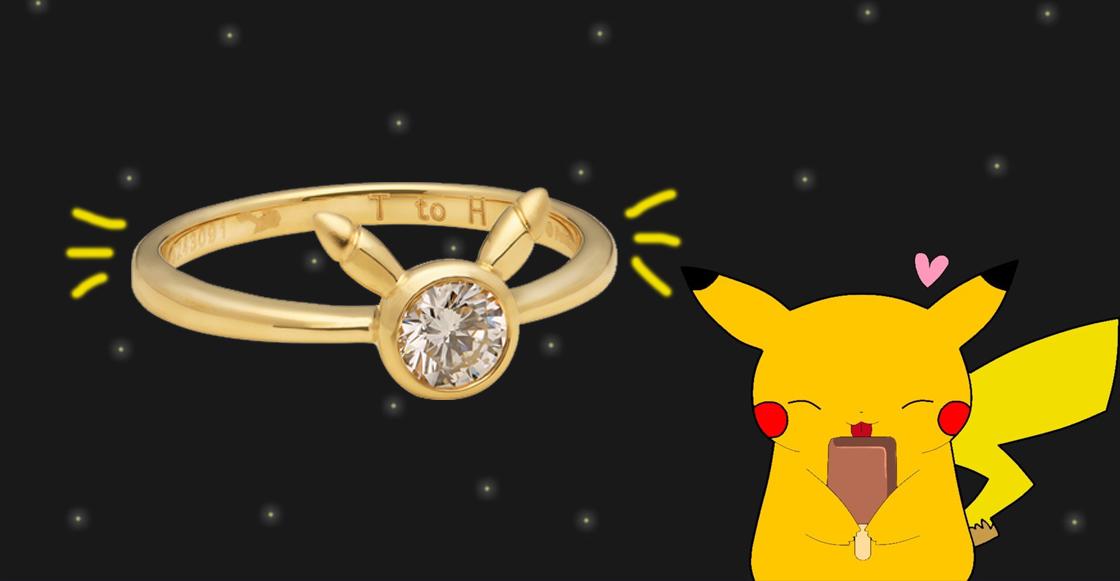 Anillo de compromiso de Pikachu