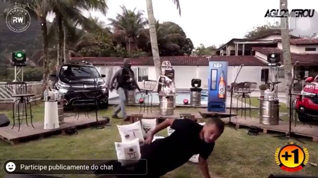 Eso no era parte del show: Tiroteo interrumpe el concierto en línea de una banda en Brasil