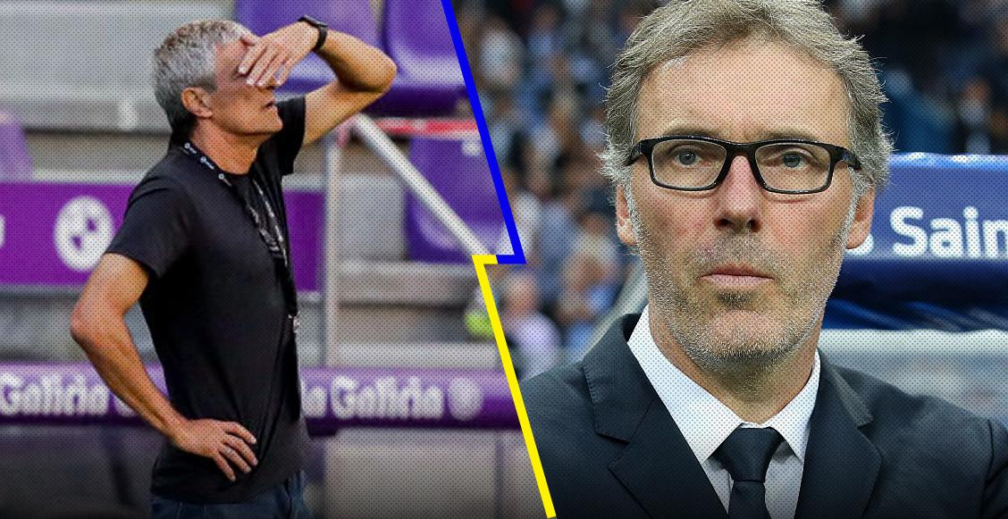 El plan del Barcelona con Laurent Blanc que pondría fin a la 'era Setién'