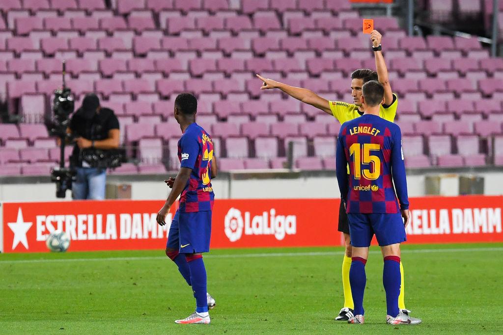 El tridente del Barcelona (Griezmann, Messi y Suárez) termina con el sueño del Espanyol