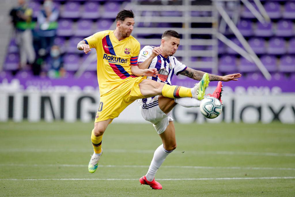 El récord que rompió Messi en la victoria del Barcelona sobre Valladolid