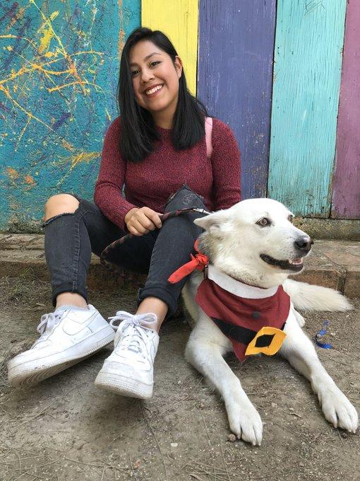 Sniff: Claudia vende retratos en acuarela para poder pagar la operación de su perrita Marina