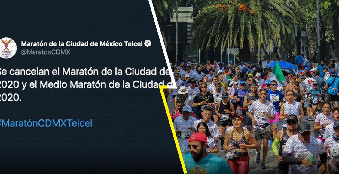 Uno más: Maratón y Medio Maratón de la CDMX 2020 se cancelan por coronavirus