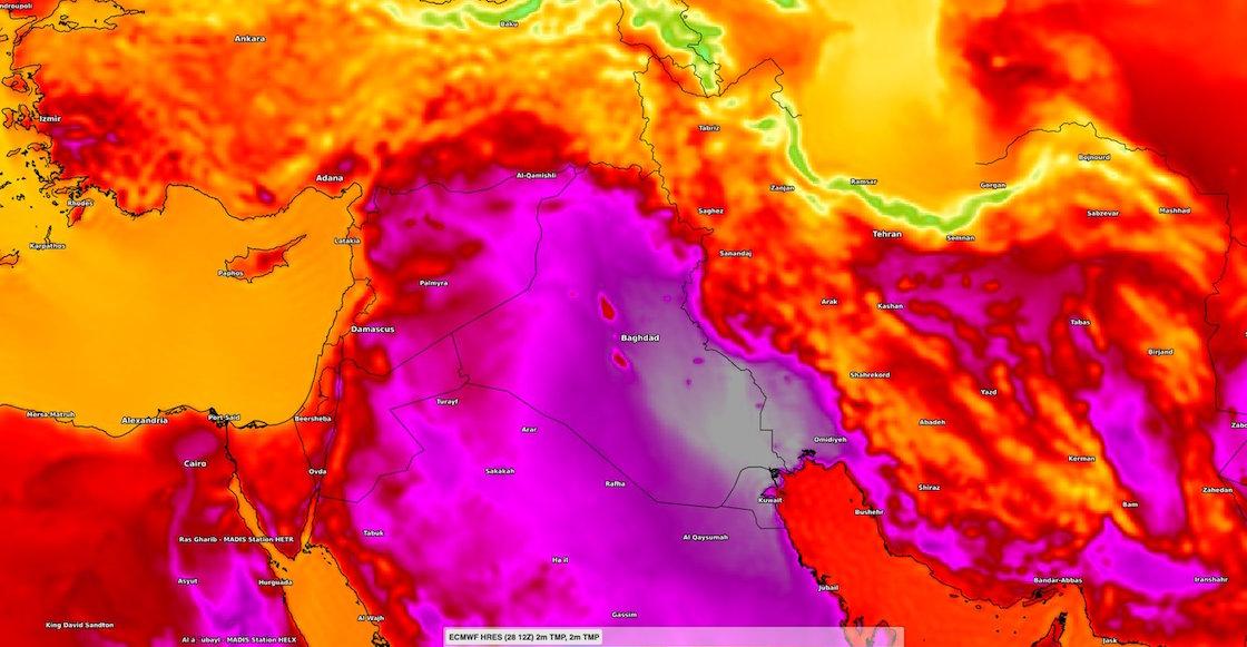 emergencia-onda-calor-temperatura-medio-oriente-record-irak-arabia-saudita-libano