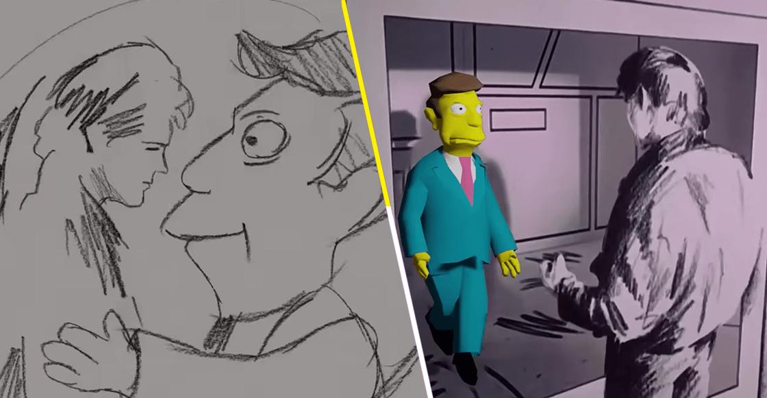 """Ocio de cuarentena nivel: Fan de 'Los Simpson' pone al director Skinner en el video de """"Take On Me"""""""