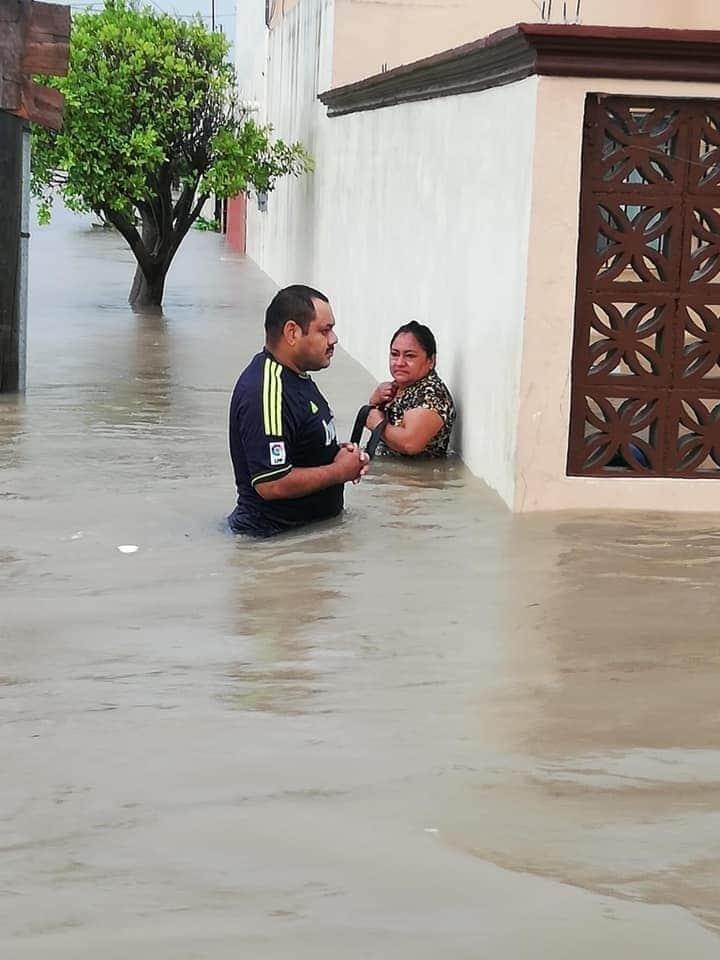 En imágenes: Así los estragos en Tamaulipas y Monterrey por el paso de 'Hanna'