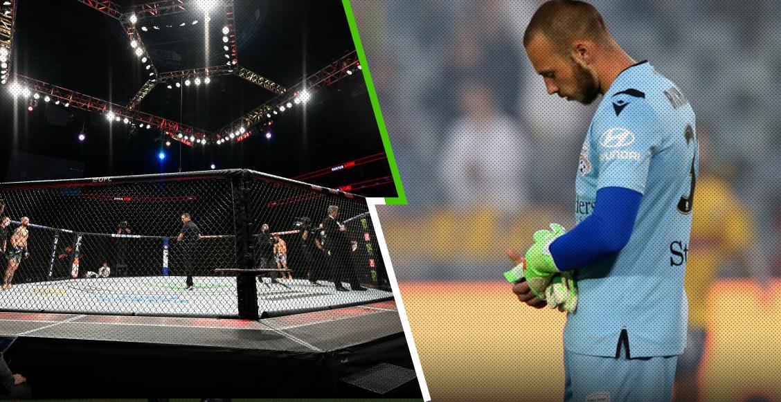 Isaac Richards: El portero que dejó el futbol para dedicarse a las MMA