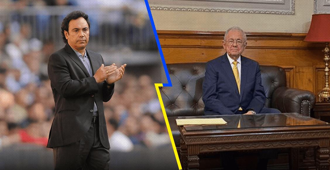 Javier Jiménez Espriú y su gris pasado en la directiva de Pumas