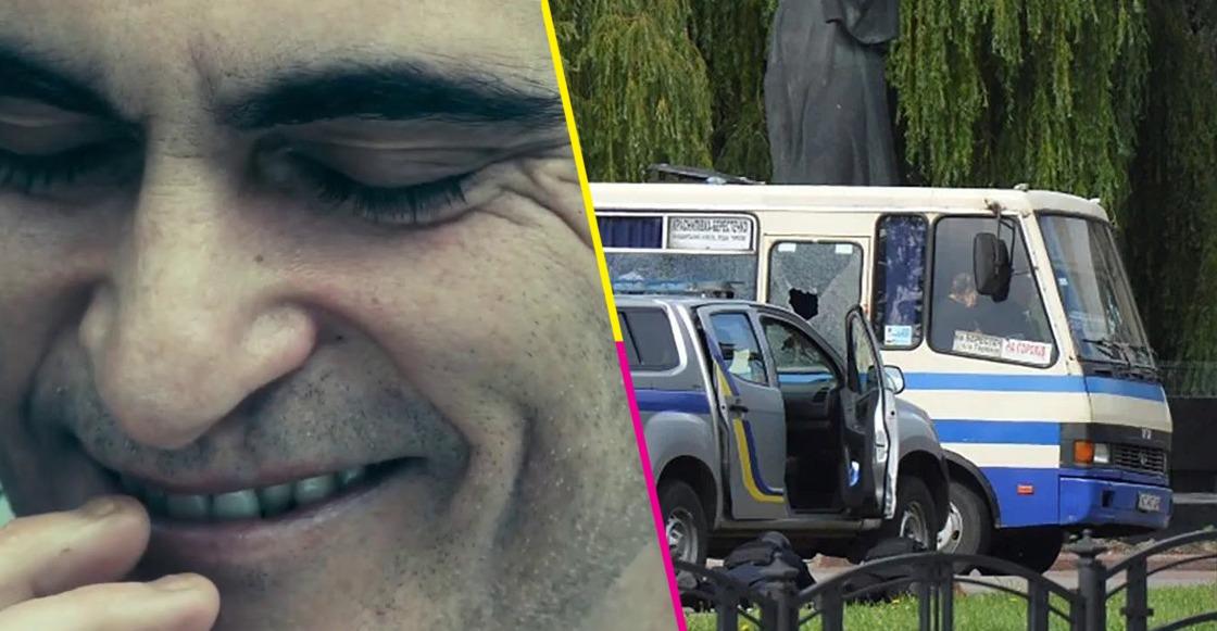 rehenes secuestro autobús Ucrania