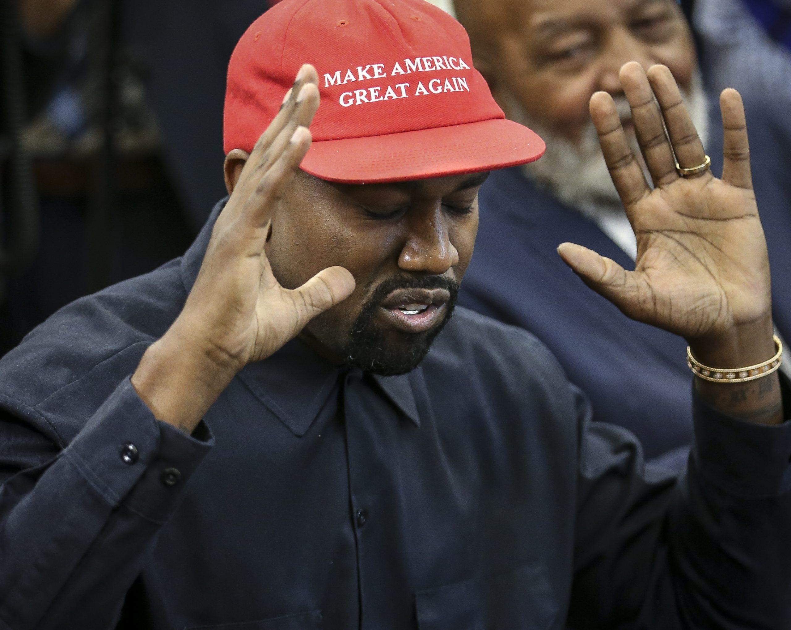 La candidatura de Kanye West a la presidencia de EUA podría estar en peligro