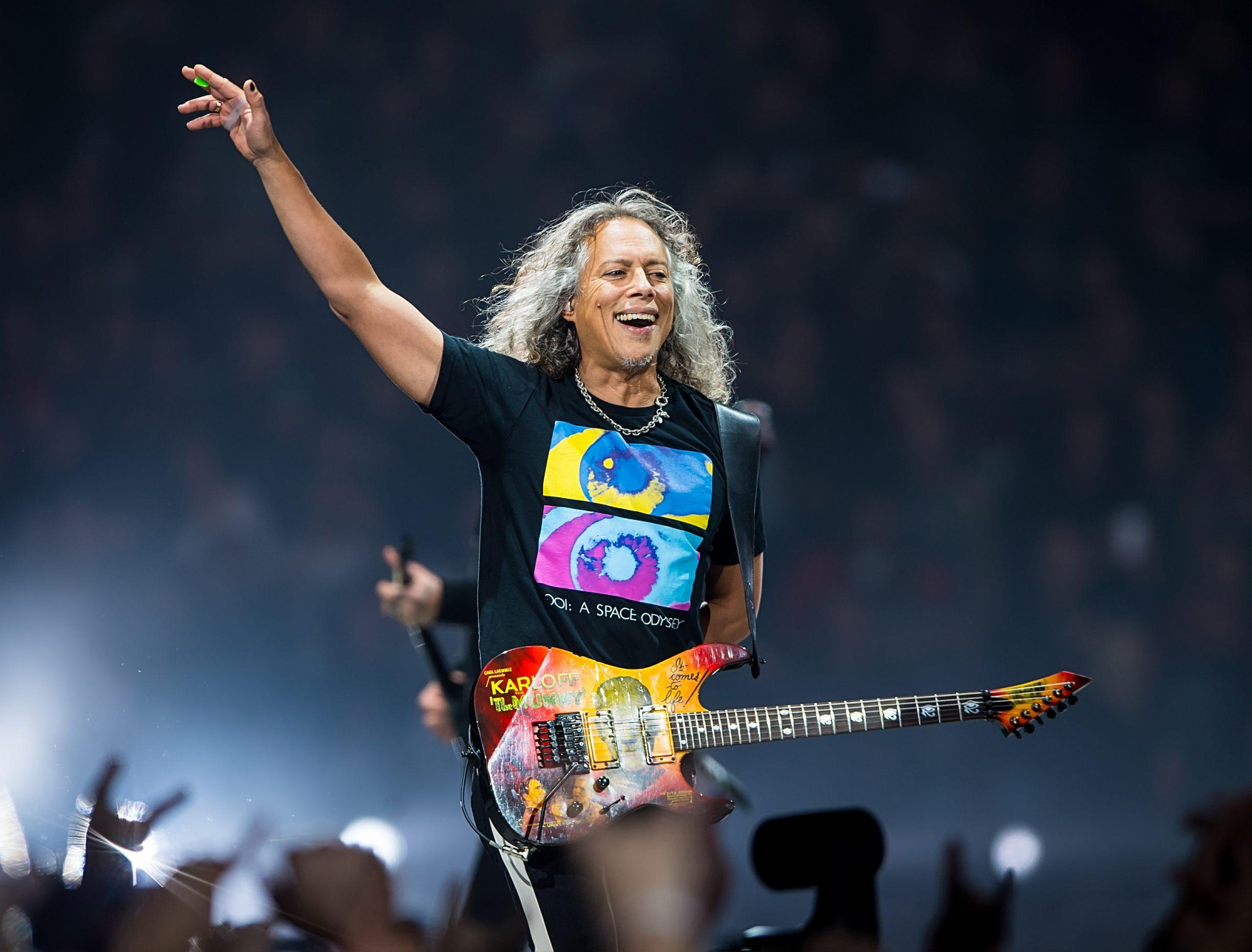 """""""Me veo tocando con Metallica hasta que ya no pueda"""": Una entrevista con Kirk Hammett"""