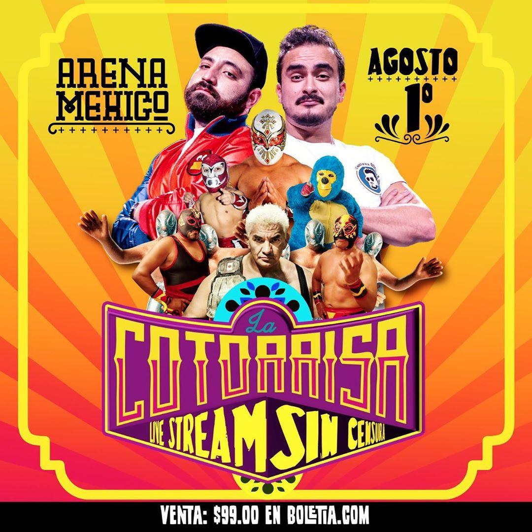 Kioña, kioña: ¡Tenemos boletos para 'La Cotorrisa desde la Arena México!