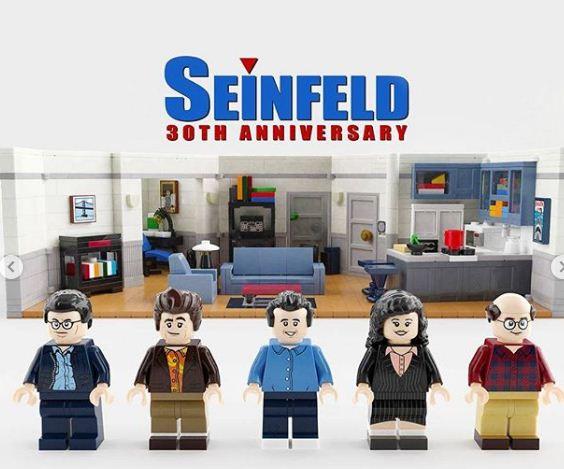 LEGO producirá sets oficiales de 'Mi Pobre Angelito' y 'Seinfeld'
