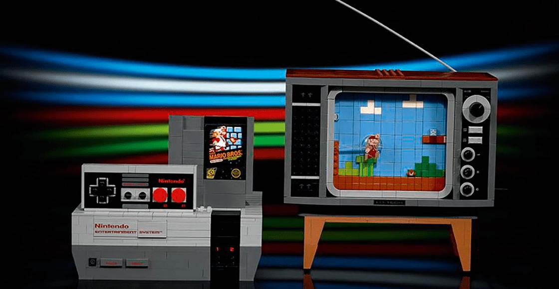 ¡Nerdgasmo! LEGO y Nintendo lanzarán un set del legendario NES