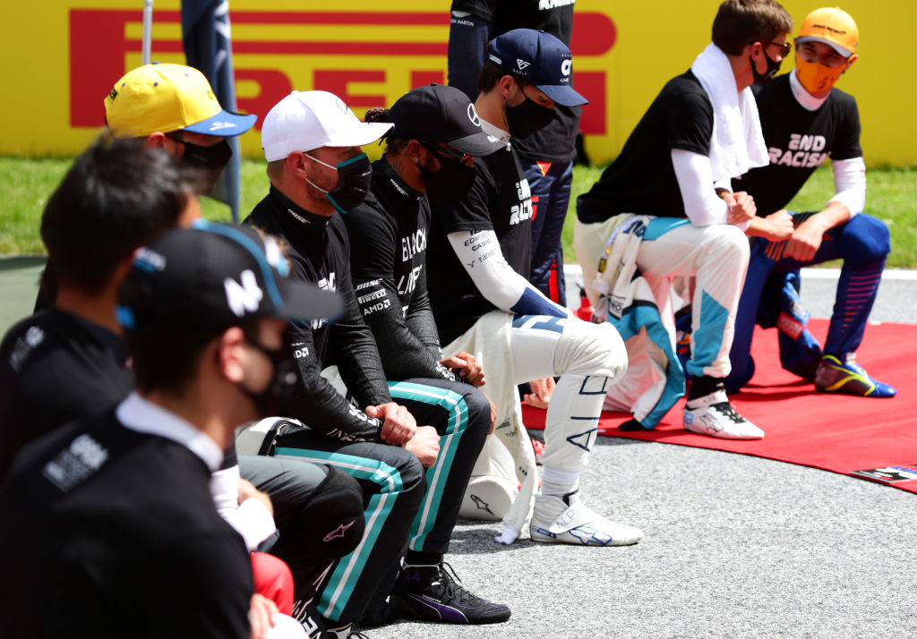 Los memes a Ferrari, el show aéreo y la lucha contra el racismo: Lo que no se vio del Gran Premio de Steiermark