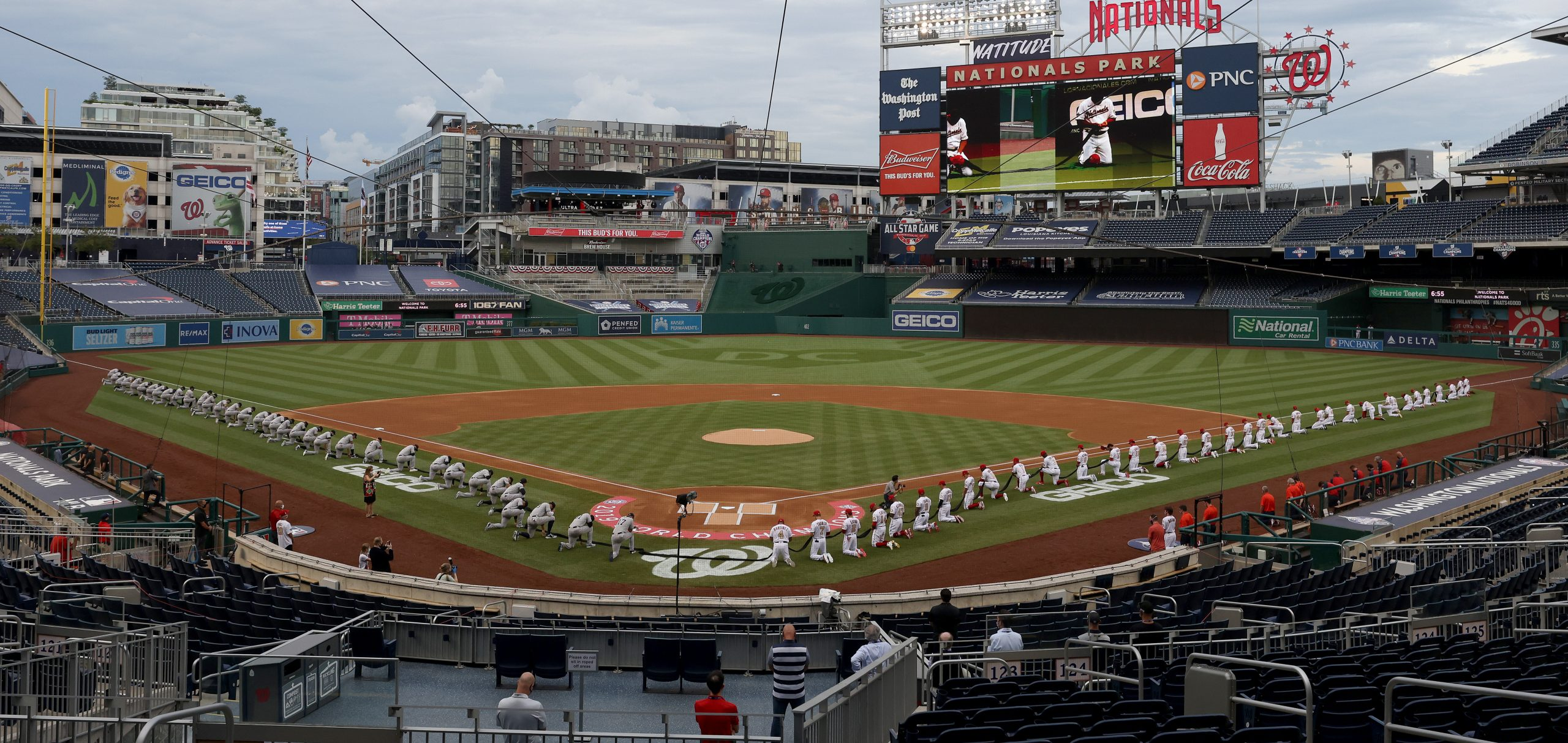 Black Lives Matter: Así fueron las protestas en el regreso de la MLB