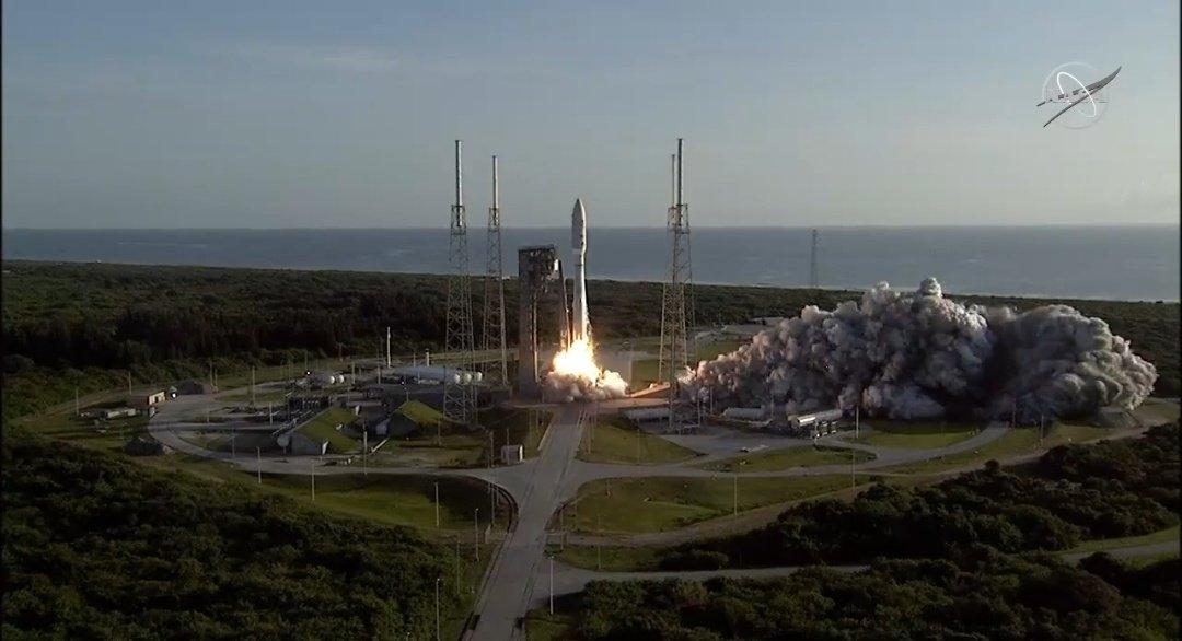 Así fue el lanzamiento de la misión Perseverance de la NASA para explorar Marte