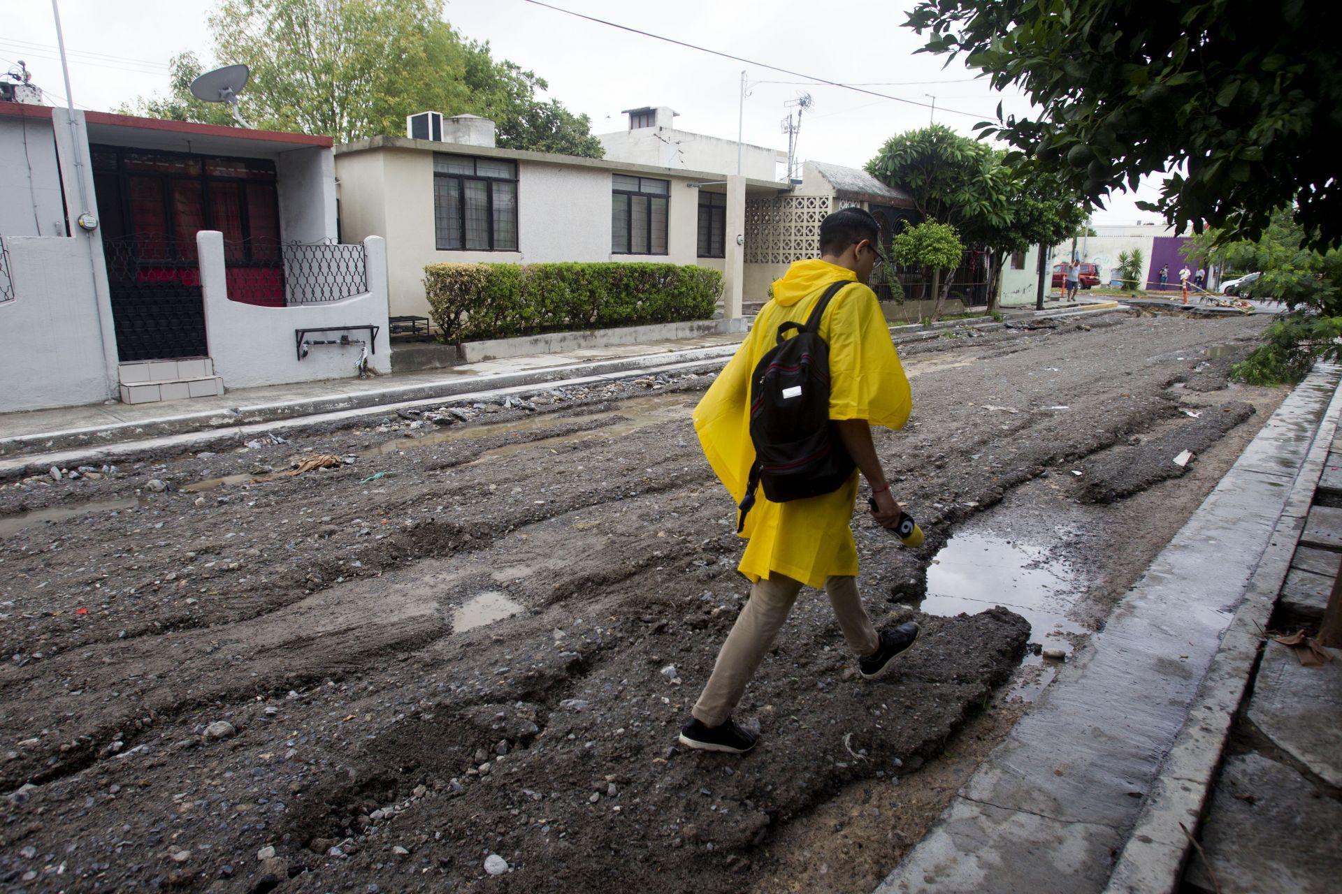 Paso de Hanna en Nuevo León