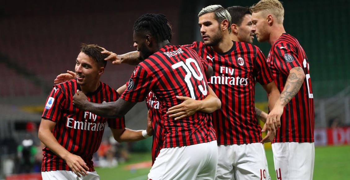Los números del nuevo e 'invencible' Milan después de la cuarentena