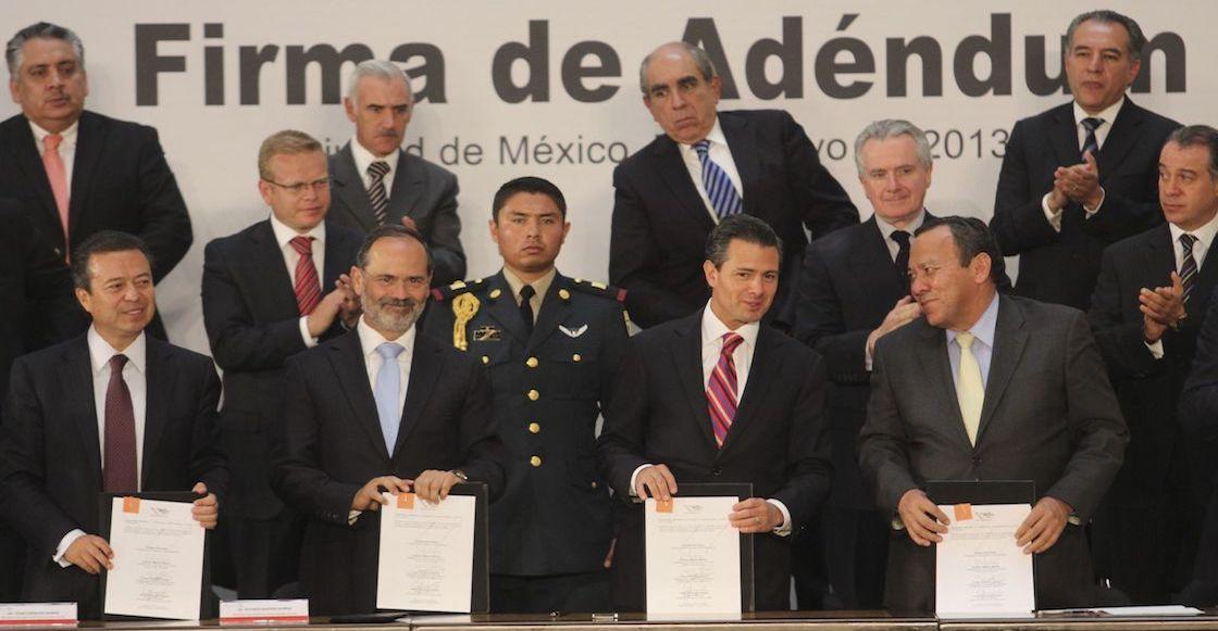 pacto-por-mexico-epn-emilio-lozoya-PRI-PAN-PRD