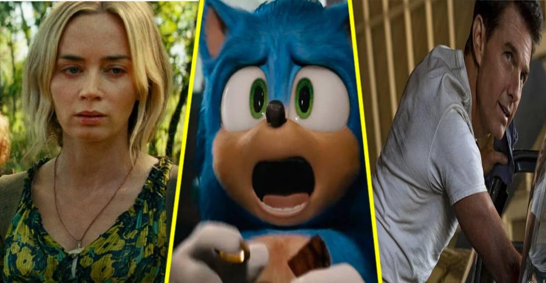 Paramount vuelve a retrasar los estrenos de 'Sonic 2', 'A Quiet Place 2' y 'Top Gun: Maverick'