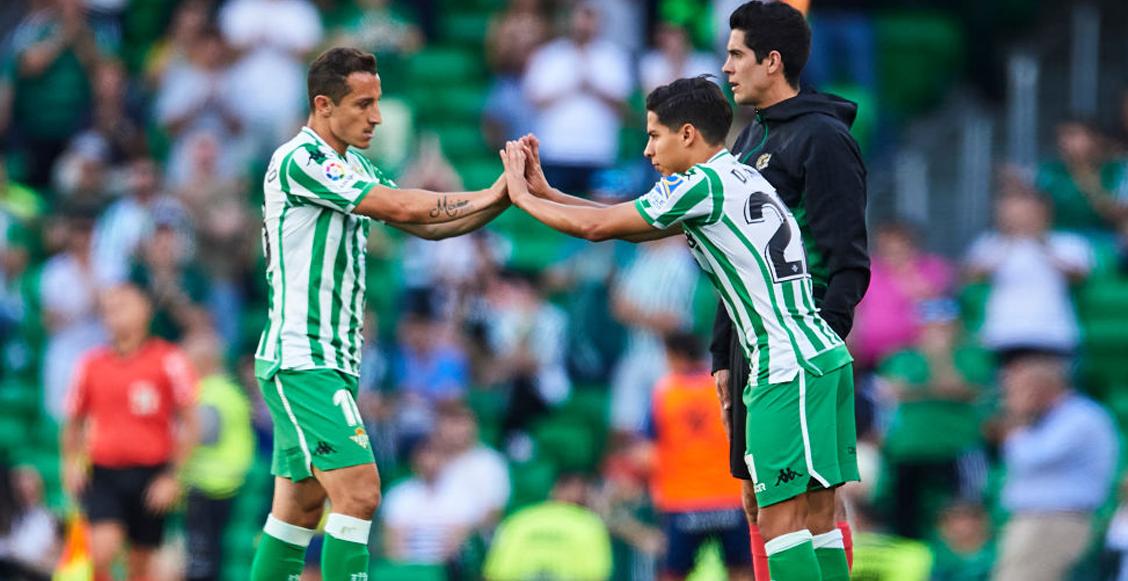 Así le fue a Lainez y Guardado en la temporada 2019-20 de La Liga Española