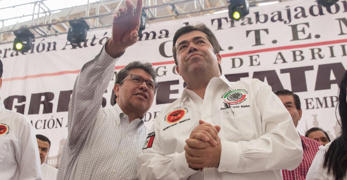 Periodistas denuncian que escoltas del senador Pedro Haces los amenazaron con metralletas