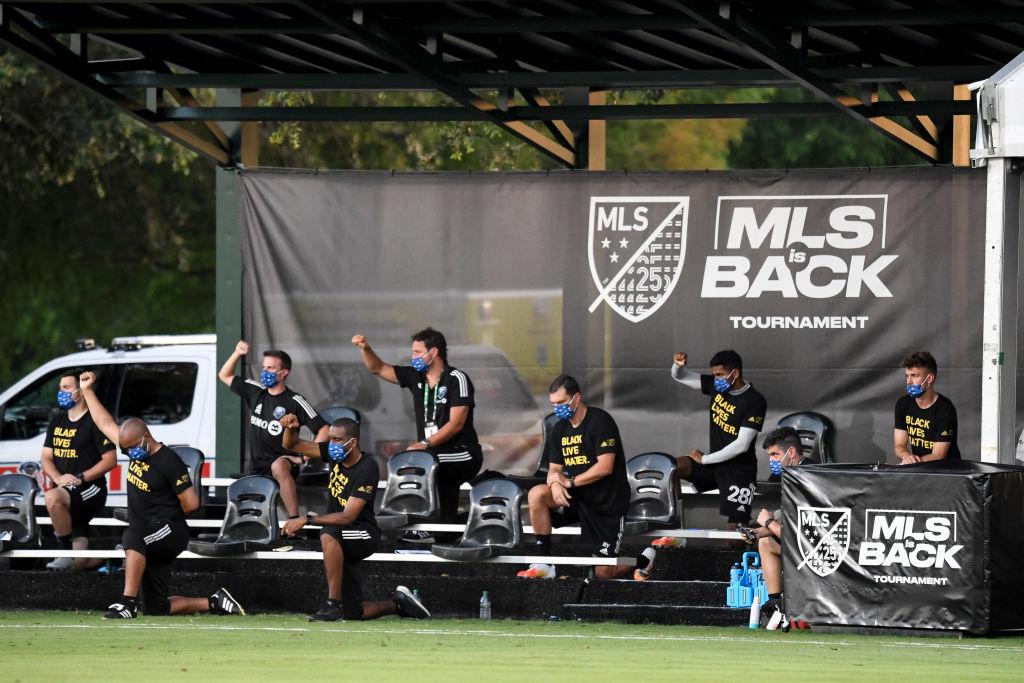 MLS is Back: El golazo de Gustavo Bou y la manifestación contra el racismo en el triunfo del New England Revolution