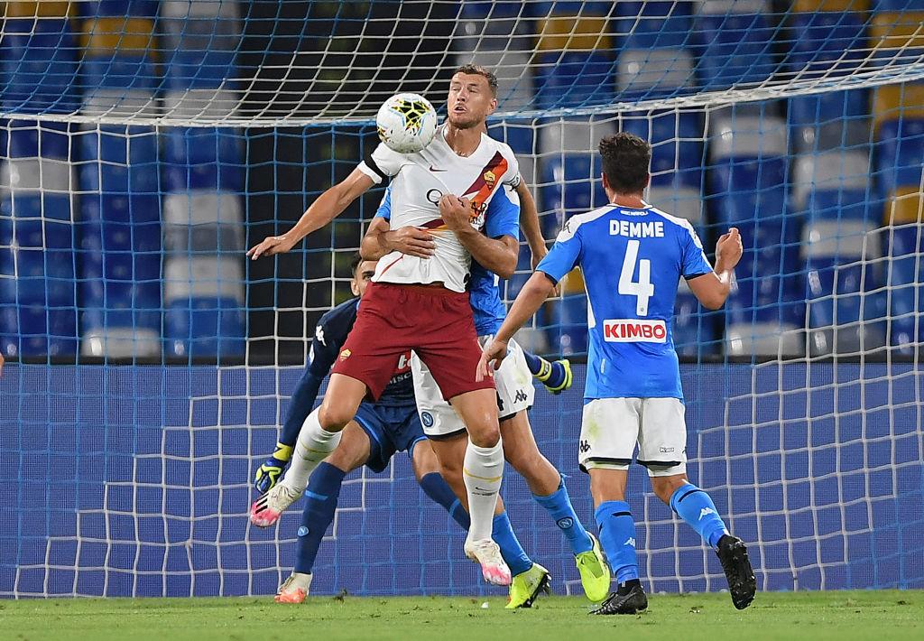 Napoli estaría 'resignado' a jugar Europa League tras empatar con la Roma
