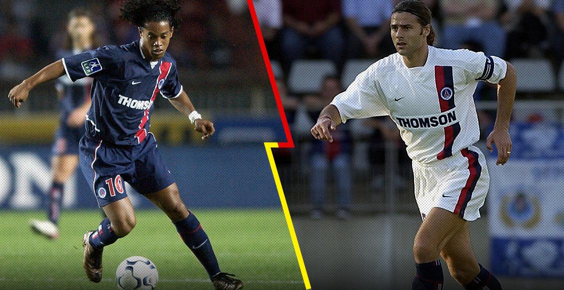 Pochettino y Ronaldinho: La dupla que quizá no sabías que jugó junta en el PSG