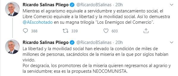 Tuit de Salinas Pliego