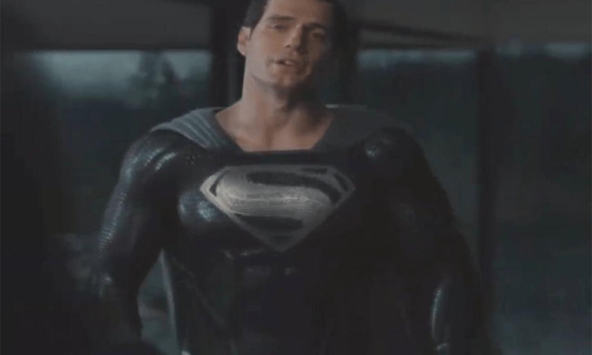 Ve a Superman portando su traje negro en el nuevo adelanto de 'Justice League', de Zack Snyder