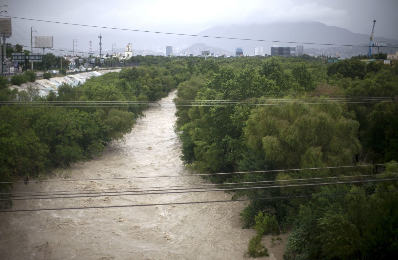 tormenta hanna en Nuevo León