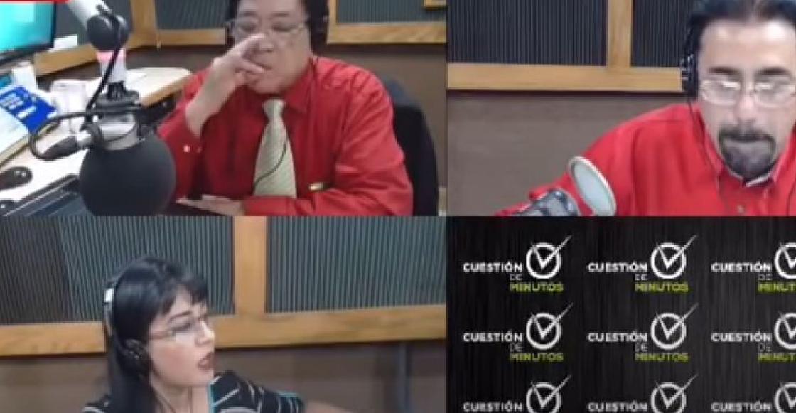 Se viraliza trato misógino de un locutor contra su compañera durante un programa de radio