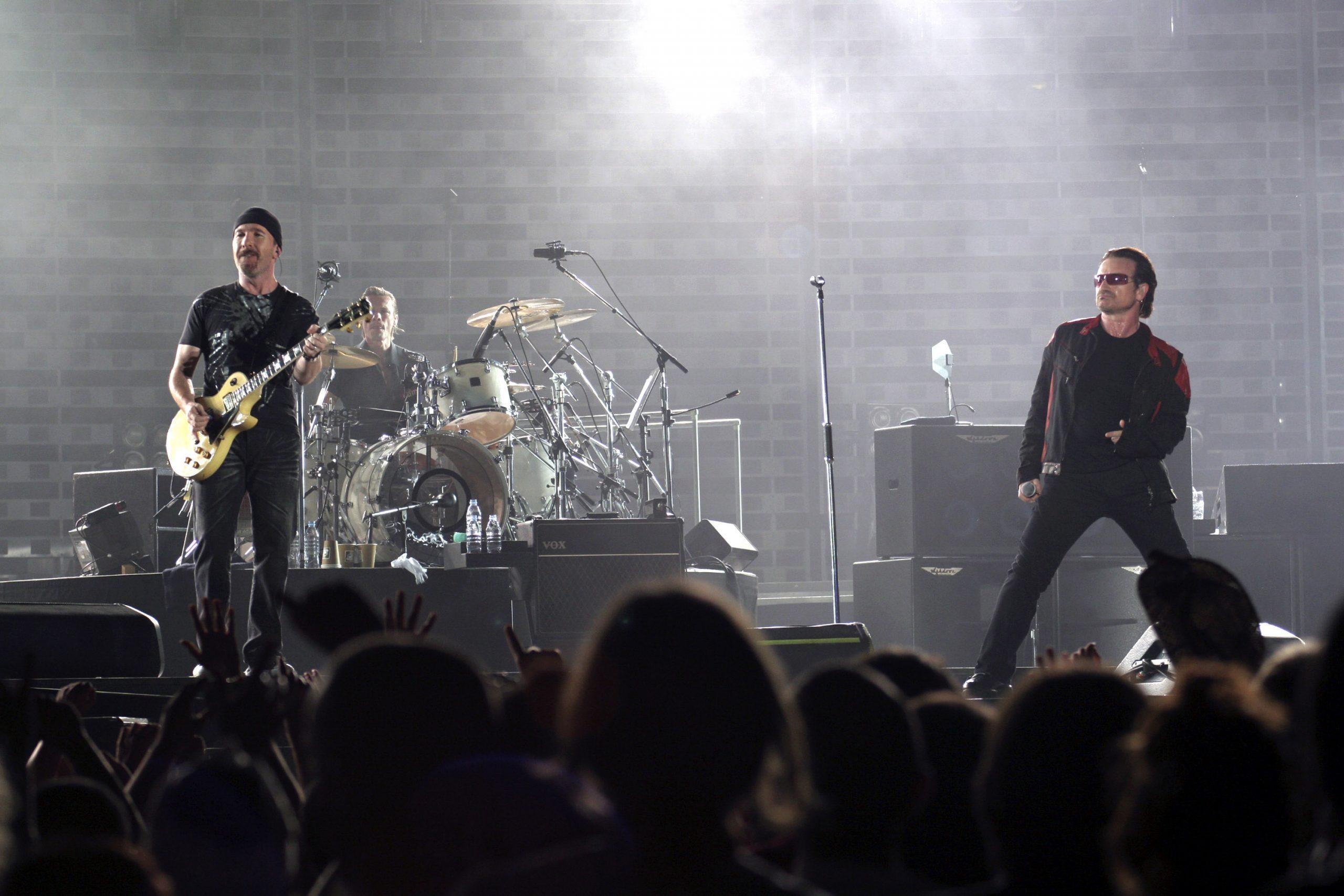 ¡U2 transmitirá en línea un concierto de la gira 'Vertigo'!