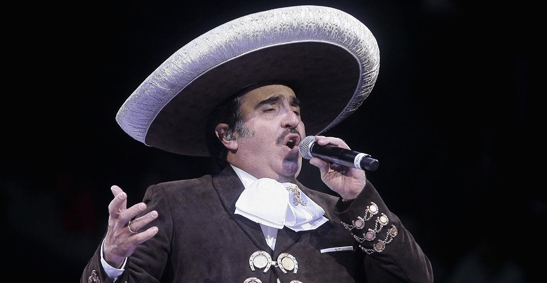 Aunque no lo crean: A Vicente Fernández Jr. se le atoró un pedazo de carne y se enteró que tiene coronavirus