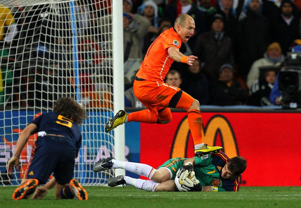 La atajada que hizo 'inmortal' a Iker Casillas en la final de Sudáfrica 2010