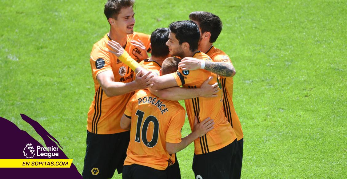 ¡Aullido de gol! El golazo de Raúl Jiménez al Burnley