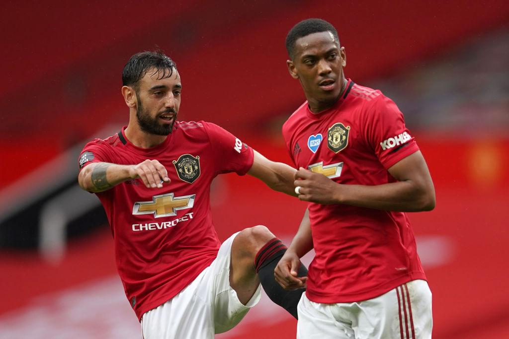 ¡Al ángulo, papá! El golazo de Martial en el Manchester United vs Bournemouth
