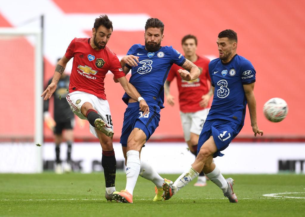 Chelsea doblegó al Manchester United y tendremos Derbi de Londres en la Final de la FA Cup