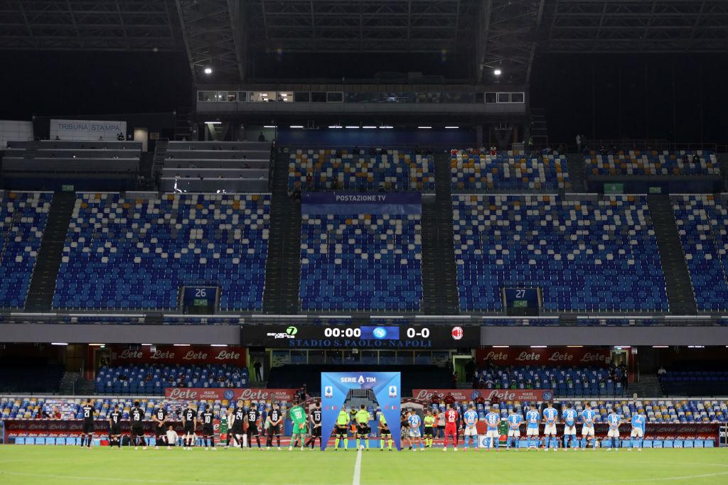Los 16 del 'Chucky', lluvia de goles y las rachas: Así se vivió el empate entre Napoli y Milan