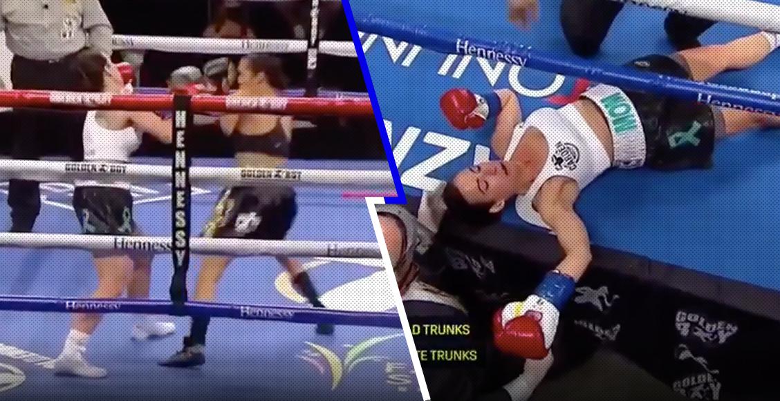 ¡¿7 segundos?! Seniesa Estrada y el KO más rápido en la historia del boxeo femenil
