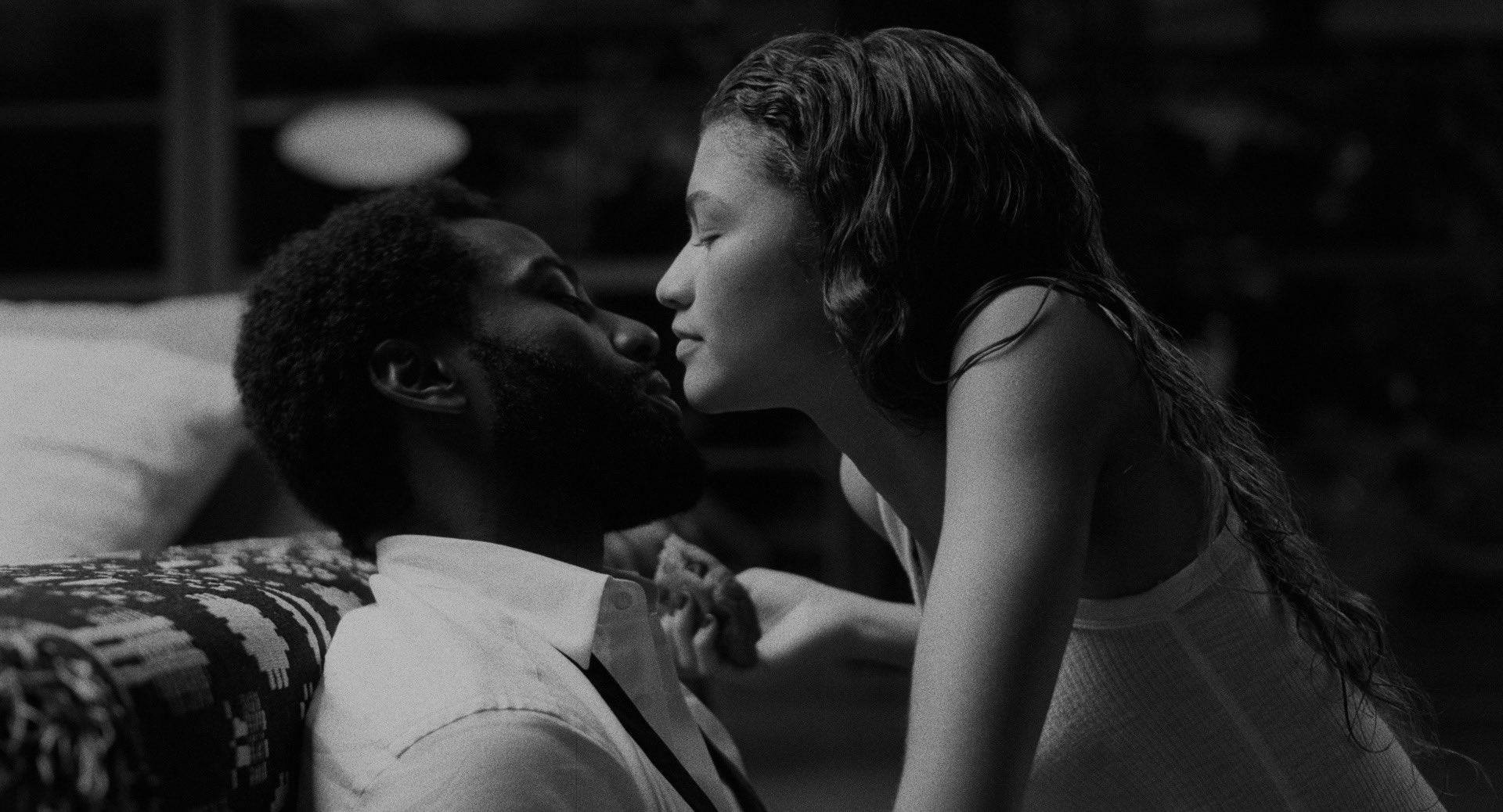 Zendaya y John David Washington grabaron una película en cuarentena